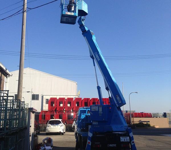 工場の防犯カメラ設置プラン例