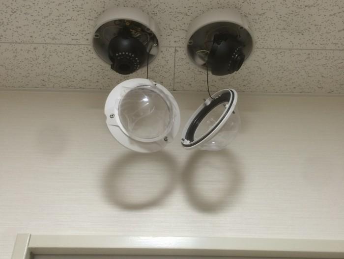 病院、介護施設の防犯カメラ設置プラン例