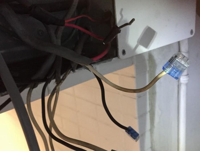 防犯カメラシステム用AC100V