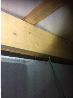 一宮市の個人宅の床下配線をしたときに落としたスピードパスを偶然発見!