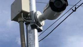 瀬戸市のマンションに防犯カメラを設置