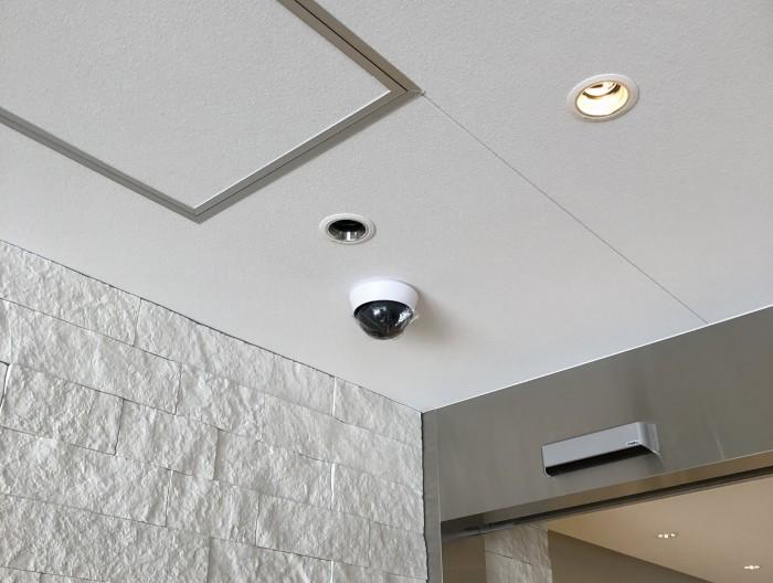 名古屋市の店舗様に防犯カメラを設置しました。