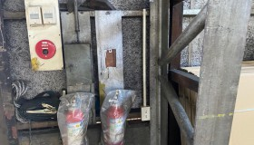 瀬戸市の工場にコンセント増設しました。